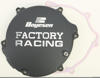 FACTORY RACING - CLUTCH COVER BLACK 94-02 Kawasaki KX125
