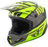 Elite Guild Helmet Hi-Vis/Grey/Black 2X-Large