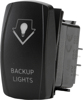 """Back Up Lights"" Lighting Switch - Amber Lighted SPST Rocker"