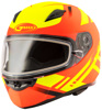 Ff-49 Full-Face Berg Snow Helmet Hi-Vis Orange/Yellow Sm