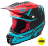 F2 Carbon Forge Motorcycle Helmet Red/Blue/Black X-Small