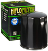 Oil Filter Black - For 80-18 H-D Tour Softail Dyna Sportster