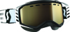 Goggle Prospect Snow Black/White Light Sensitive Bronze Chrome Lens