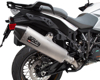 Rs-4 Slip-On Exhaust Stainless Steel w/ Carbon Tip - KTM 1090+ Adventure
