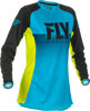 Women's Lite Jersey Blue/Hi-Vis Youth Small