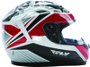 Conquest Mosaic Helmet White/Red/Black L