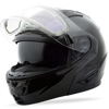 GM-64 Carbide Modular Snow Helmet w/ Electric Shield Black X-Small
