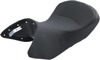 IST Vinyl Solo Seat Black - For BMW R1200GS