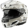 Gm-54S Modular Scribe Snow Helmet Matte White/Grey Md