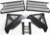Aluminum Radiator Guard Black - For 06-09 Honda CRF250R