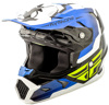 Toxin Original Helmet Blue/Black/White Youth Large