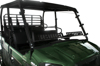Full Windshield Hard Coat Dual Vent - For 15-17 Kawasaki Mule Pro