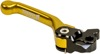 Flex Aluminum Mechanical Brake Lever Yellow - For 04-19 Suzuki RM