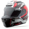 FF-88 Full-Face X-Star Helmet White/Red X-Small