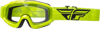 Focus Goggle Hi-Vis Yellow W/ Clear Lens