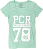 Women's PCR V-Neck Tee Turquoise Large