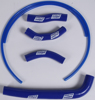 Silicone Hose Kit Blue - For 10-13 Honda CRF250R