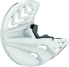Disc Protector White/Black - For 08-18 Yamaha YZ 125-450