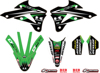 2018/2019 Monster Energy Kawasaki Graphic/Trim Kit - For 14-19 KX