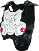 A-4 Chest Protector White/Black/Red M/L
