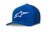 Ageless Stretch Mesh Hat Royal Blue/White Small/Medium