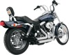 Shortshots Staggered Chrome Full Exhaust *Return* - 91-05 Harley FXD