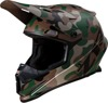 Rise Camouflage Full Face Offroad Helmet Brown 4X-Large