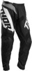 Youth Sector Blade Pants - Black & White Size 22