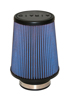 "Universal Air Filter - Cone 3-1/2"" FLG 6""B x 4-5/8""T 7""H - Synthamax"