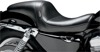 Daytona Sport Plain Vinyl 2-Up Seat - For Harley XL w/3.3g Tank
