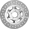 Recoil Floating Front Left Brake Rotor 330mm Chrome - Harley