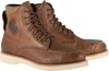 Monty Leather Street Riding Boots Brown US 9