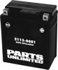AGM Maintenance Free Battery 120CCA 12V 7Ah Factory Activated - Replaces YTZ8V