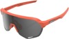 S2 Sunglasses Coral Red w/ Gray Lens