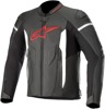 Faster Airflow Leather Motorcycle Jacket Black/Red/White US 50
