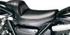 Daytona Sport Plain Vinyl Solo Seat Black - For 82-94 Harley FXR