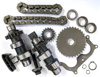 Used Harley Camshafts - Kit w/ Chains & Sprockets Includes 25534-99 & 25544-00