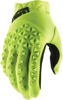 Airmatic Gloves - Yellow Fluo Short Cuff Youth Large