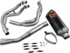 Racing Line Full Exhaust - S.S. / C.F. - For 09-19 Kawasaki ZX6R / ZX636