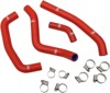 Red Race Radiator Hose Kit w/Clamps - For 2018 Honda CRF250R
