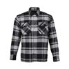 """The Bender"" Men's Armored Riding Flannel Storm Grey 2X-Large"