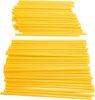 Yellow Spoke Covers - 80 Pack - 40 Front & 40 Rear For MX Bikes