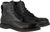 Monty Leather Street Riding Boots Black US 9