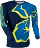 Qualifier Performance Fit Jersey - Blue & Yellow Youth X-Large
