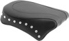 Concho Skirt Studded Vinyl Pillion Pad - For 96-05 HD Dyna