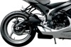 GP1 Black Slip On Exhaust - For 11-18 Suzuki GSXR600/750