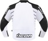 Hypersport2 Leather Jacket - White Men's Size 46