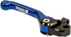 Flex Aluminum Mechanical Brake Lever Blue - For 01-20 Yamaha YZ