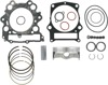 9.9:1 STD Compr. Top End Piston Kit - +1mm Bore - For 02-08 Grizzly & 05-07 Rhino