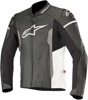Faster Airflow Leather Jacket Black/Gray/White US 3X-Large